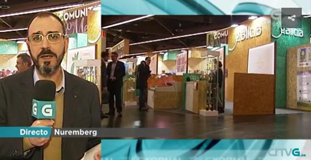 Los informativos de la Televisión de Galicia dedican dos reportajes a la Feria Biofach